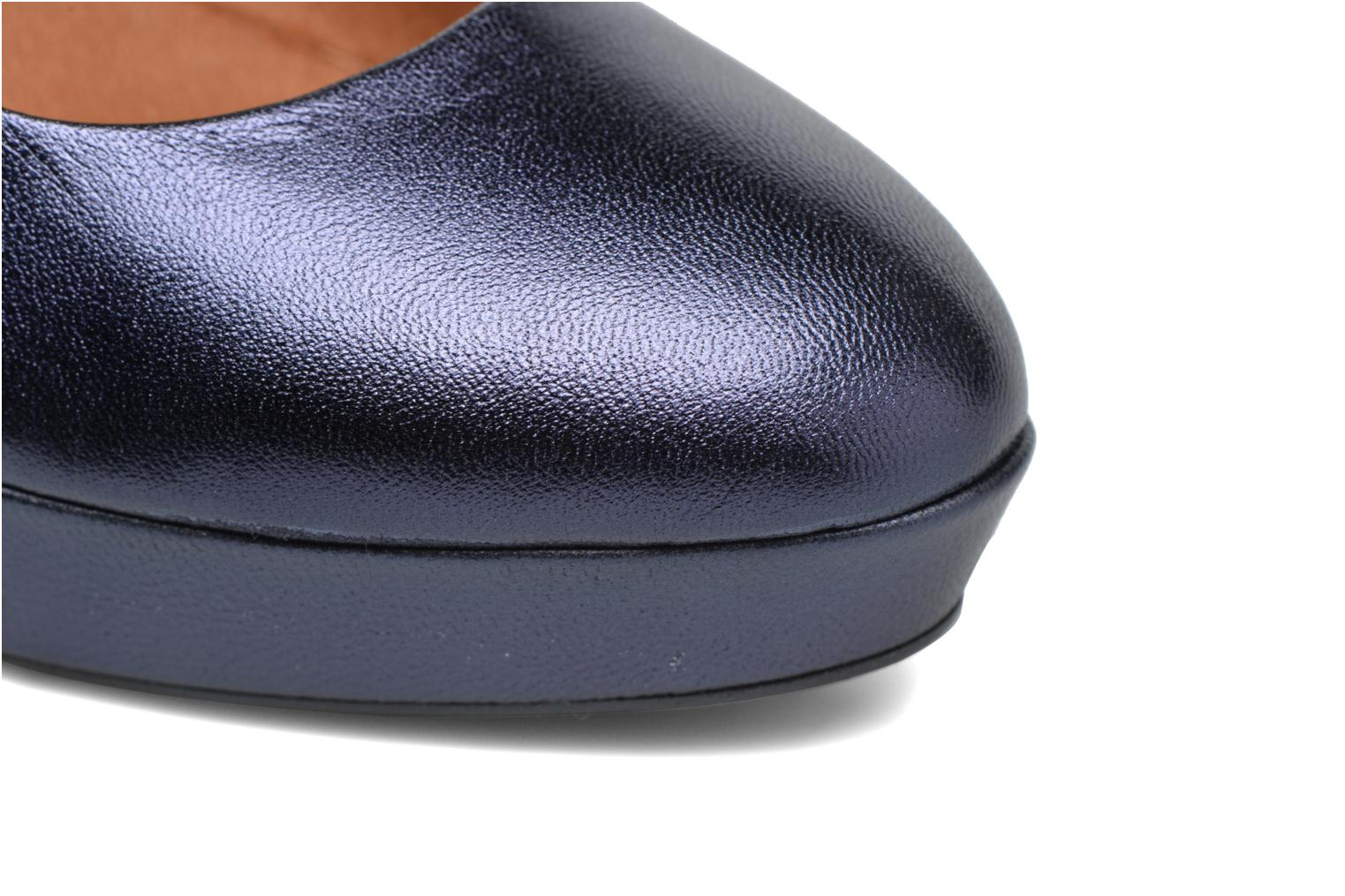 Pumps Made by SARENZA Glossy Cindy #7 Blauw links