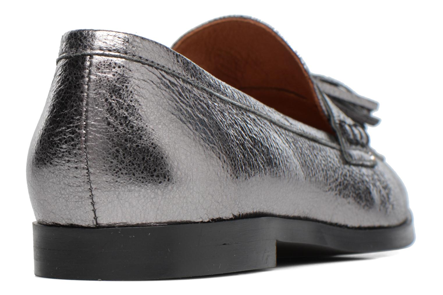 Loafers Made by SARENZA Partygloo #10 Silver front view