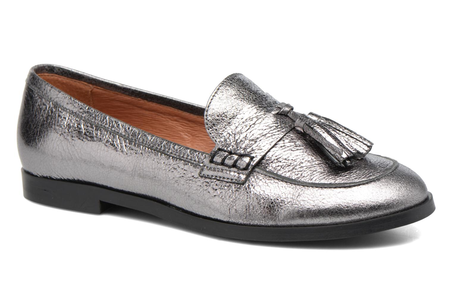 Loafers Made by SARENZA Partygloo #10 Silver view from the right