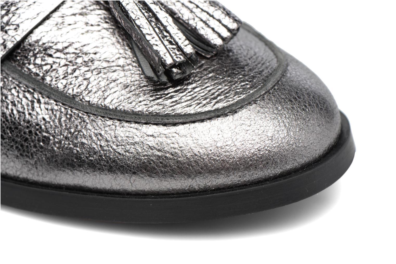 Slipper Made by SARENZA Partygloo #10 silber ansicht von links