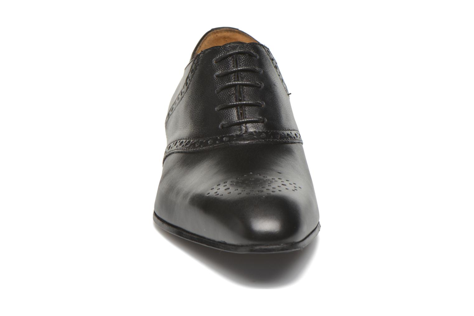 Lace-up shoes Marvin&co Newquay Black model view
