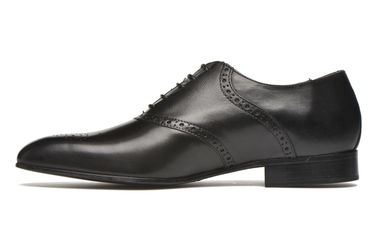 Lace-up shoes Marvin&co Newquay Black front view