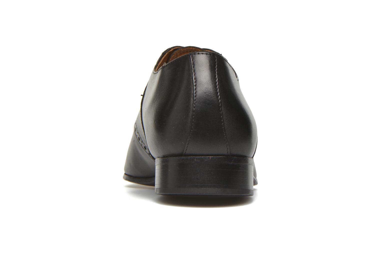 Zapatos con cordones Marvin&Co Newquay Negro vista lateral derecha