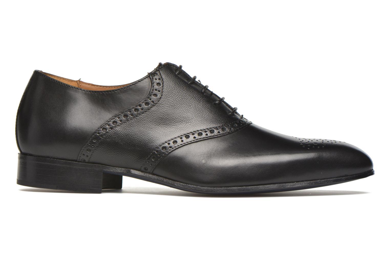 Zapatos con cordones Marvin&Co Newquay Negro vistra trasera