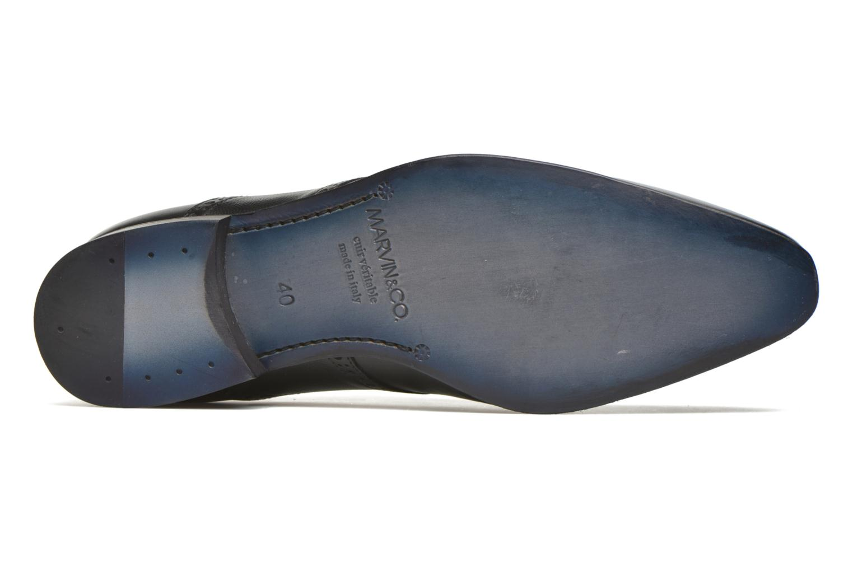 Chaussures à lacets Marvin&Co Newquay Noir vue haut