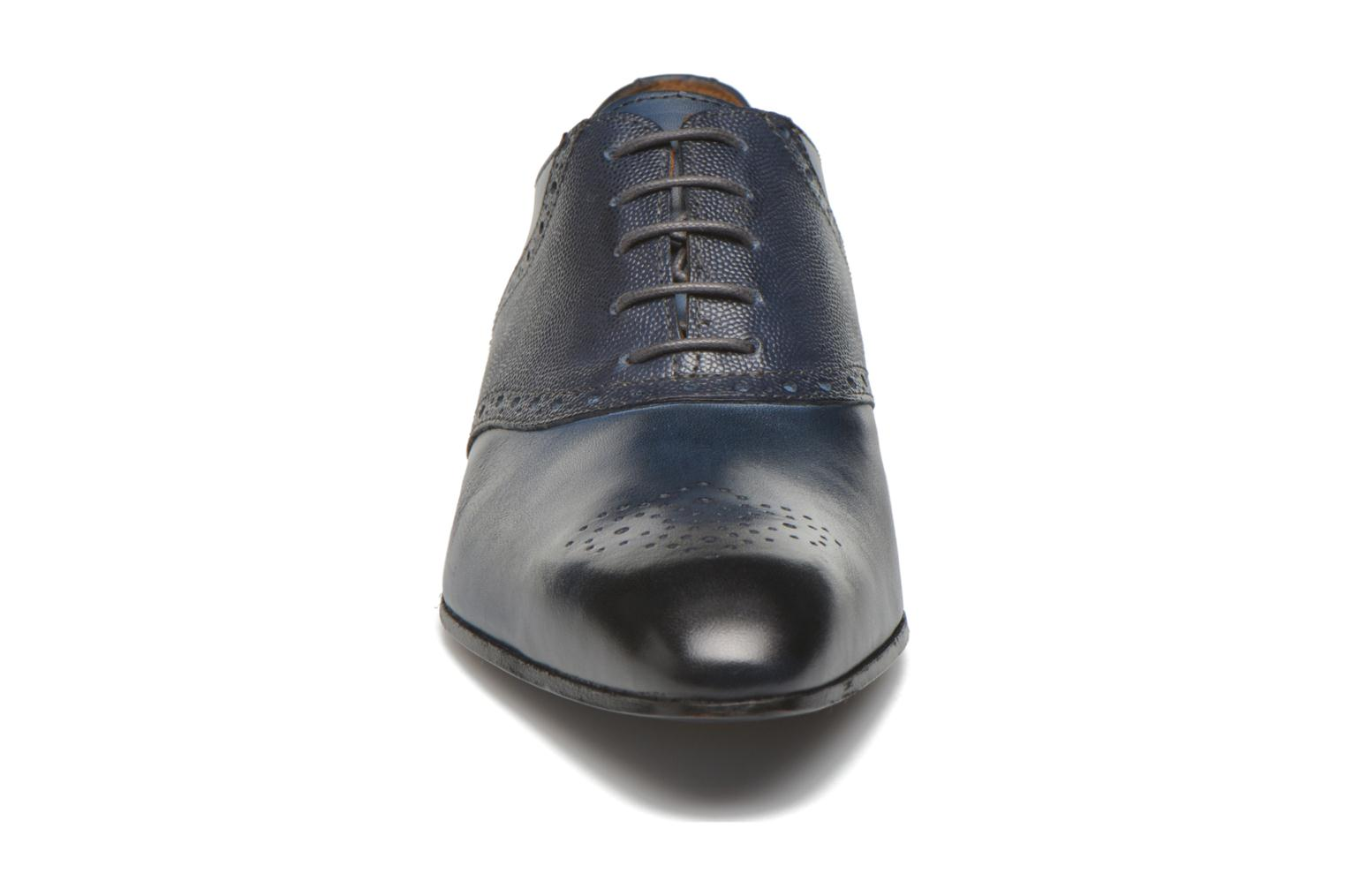 Lace-up shoes Marvin&co Newquay Blue model view