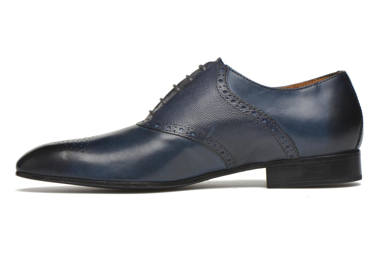 Chaussures à lacets Marvin&Co Newquay Bleu vue face