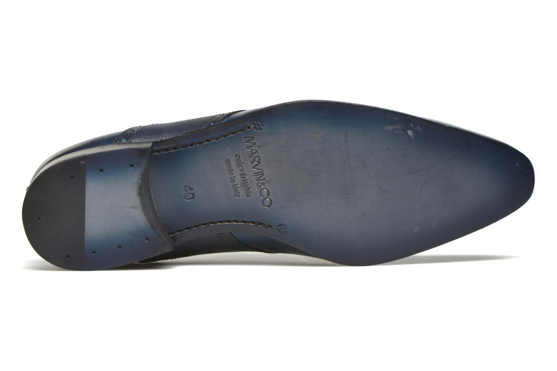 Chaussures à lacets Marvin&Co Newquay Bleu vue haut