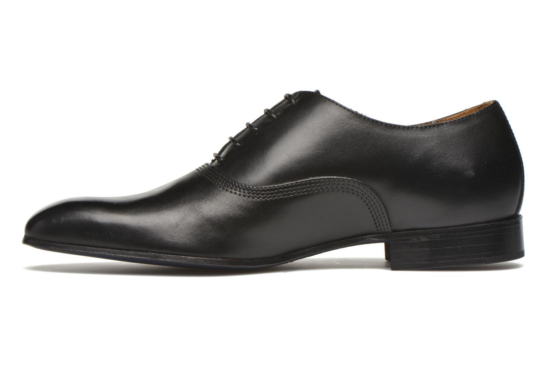 Schnürschuhe Marvin&Co Norwich schwarz ansicht von vorne