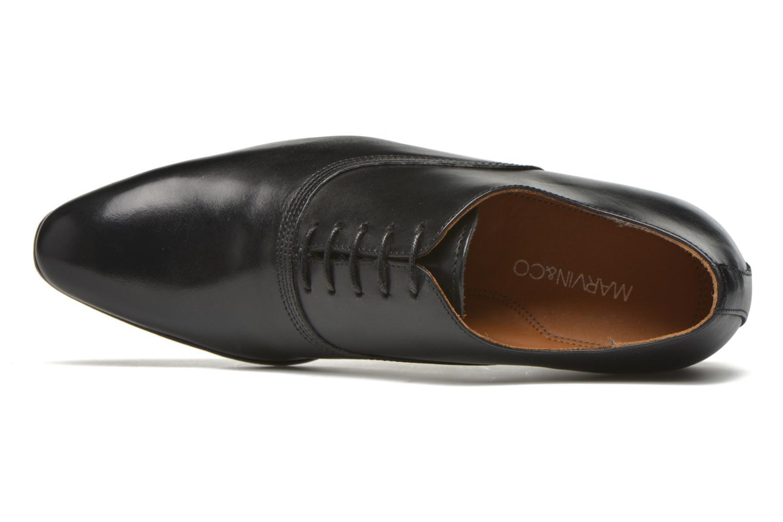 Scarpe con lacci Marvin&Co Norwich Nero immagine sinistra