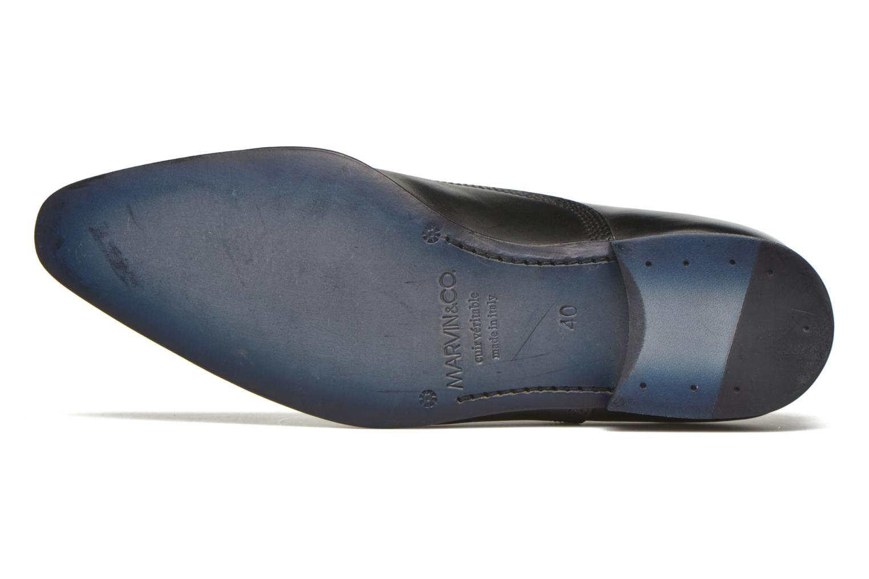 Chaussures à lacets Marvin&Co Norwich Noir vue haut
