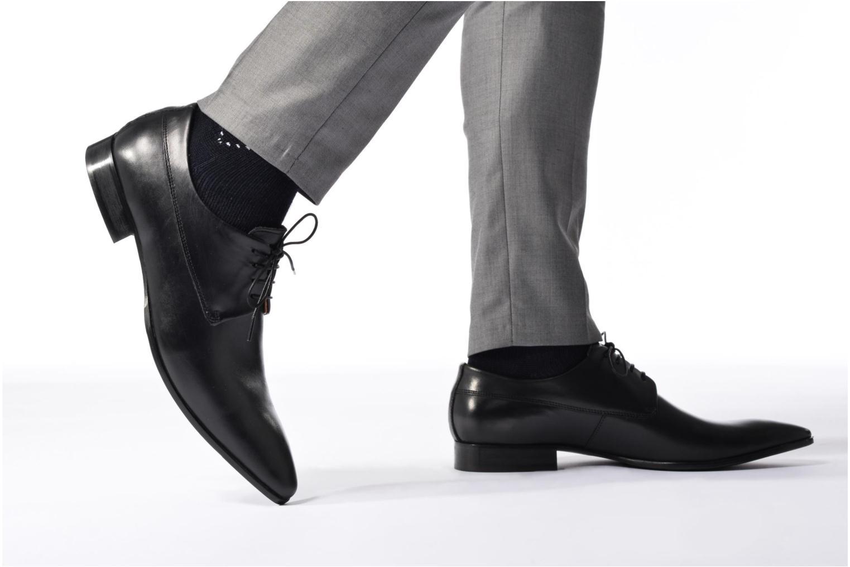 Scarpe con lacci Marvin&Co Notton Nero immagine dal basso