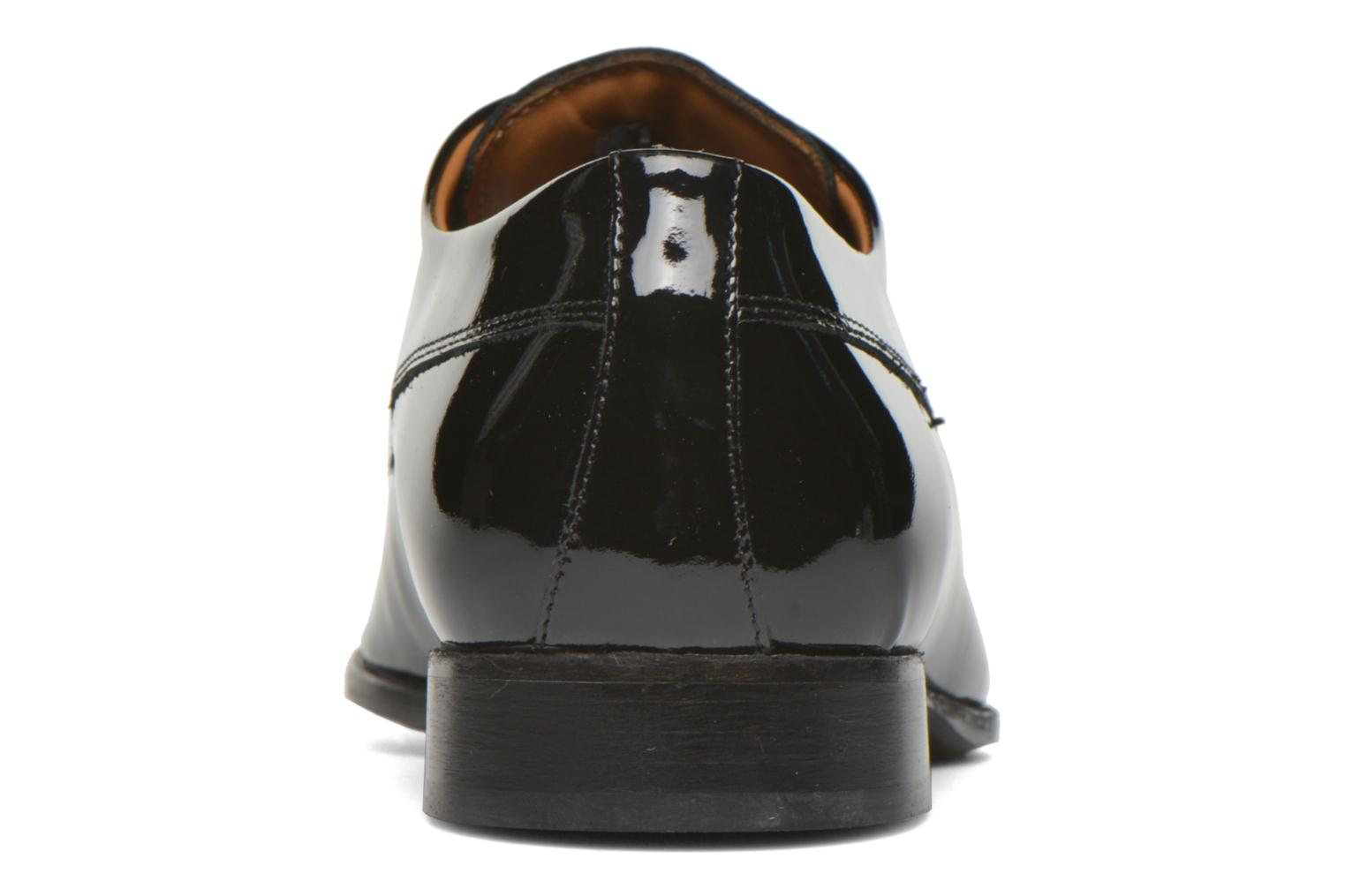 Lace-up shoes Marvin&co Notton Black view from the right