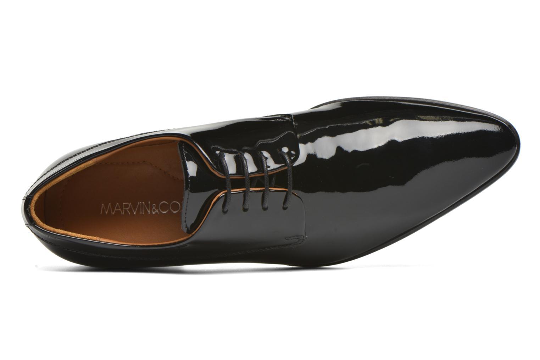 Scarpe con lacci Marvin&Co Notton Nero immagine sinistra