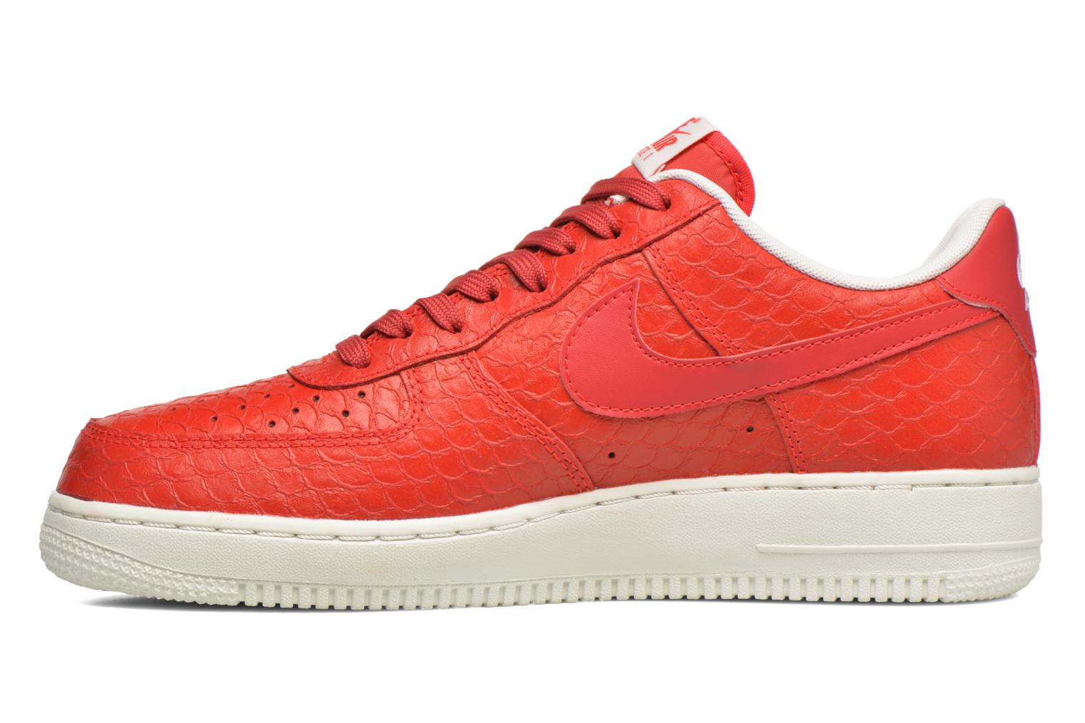 Baskets Nike Air Force 1 '07 Lv8 Rouge vue face
