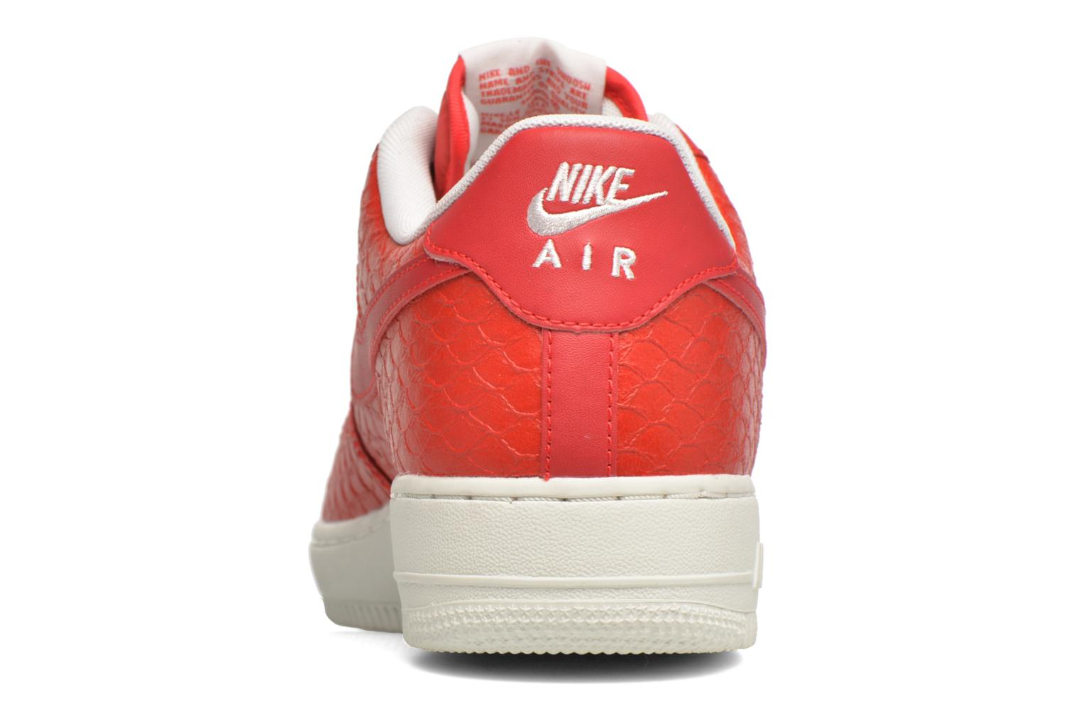 Baskets Nike Air Force 1 '07 Lv8 Rouge vue droite
