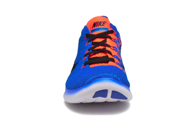 Nike Free Rn Flyknit Rcr Blue/Blk-Ttl Crmsn-Pht Bl