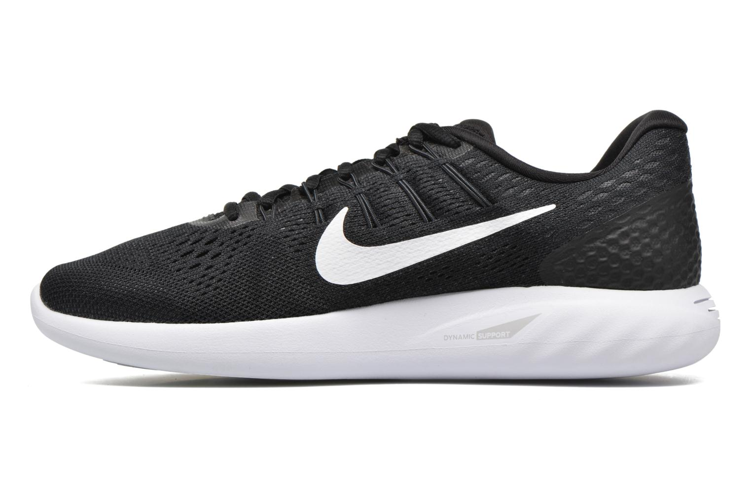 Sport shoes Nike Nike Lunarglide 8 Black front view