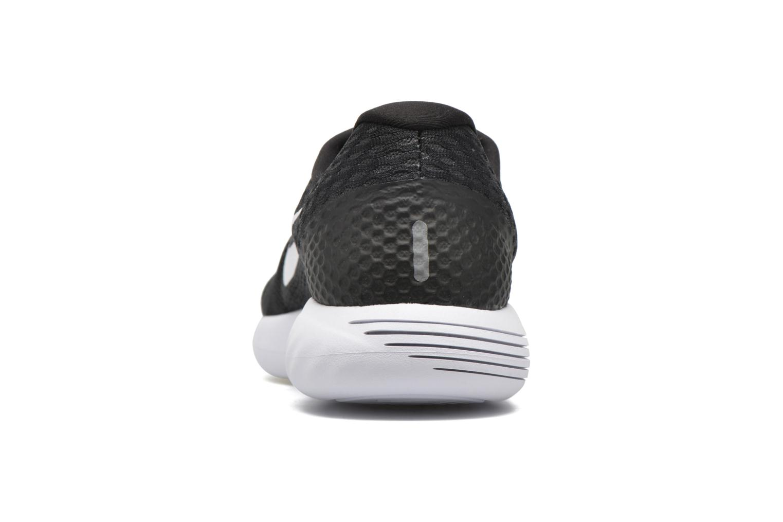 Sport shoes Nike Nike Lunarglide 8 Black view from the right