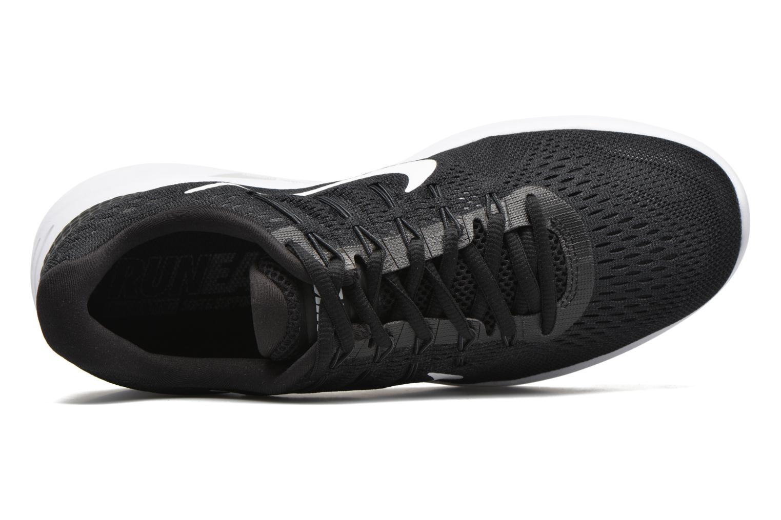 Sport shoes Nike Nike Lunarglide 8 Black view from the left