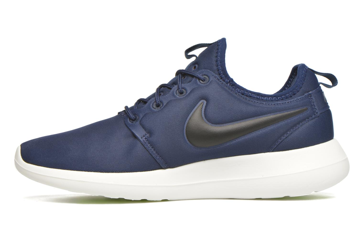 Trainers Nike Nike Roshe Two Blue front view