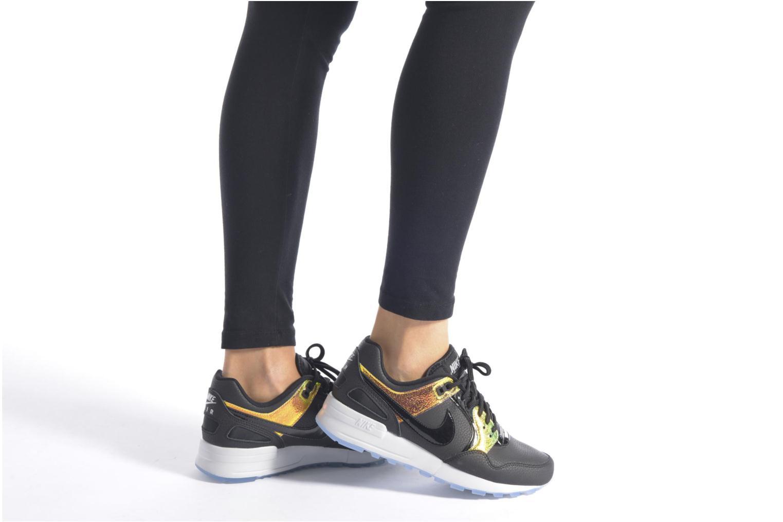 Sneaker Nike Nike W Air Pegasus '89 Prm schwarz ansicht von unten / tasche getragen