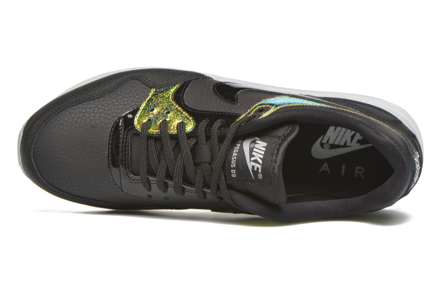 Trainers Nike Nike W Air Pegasus '89 Prm Black view from the left