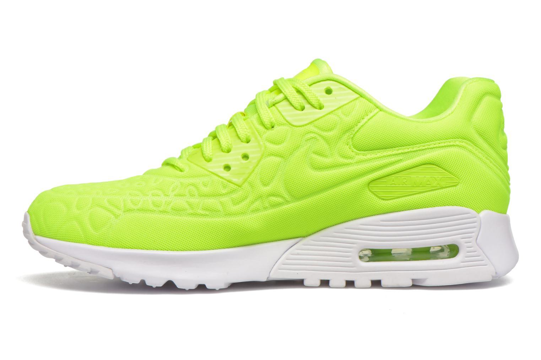 Sneakers Nike W Air Max 90 Ultra Plush Gul se forfra
