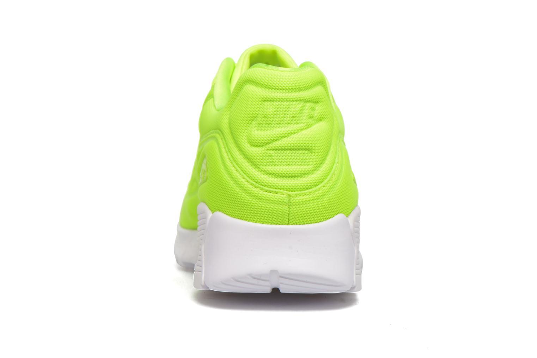Baskets Nike W Air Max 90 Ultra Plush Jaune vue droite