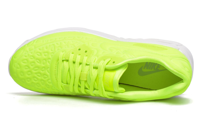 Baskets Nike W Air Max 90 Ultra Plush Jaune vue gauche