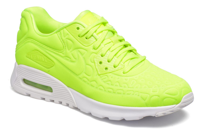 Sneakers Nike W Air Max 90 Ultra Plush Gul detaljeret billede af skoene
