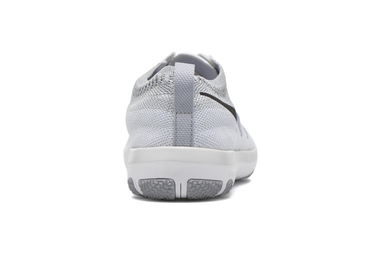 W Nike Free Tr Focus Flyknit White/Black-Wolf Grey