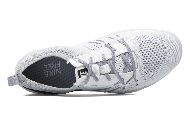 Chaussures de sport Nike W Nike Free Tr Focus Flyknit Blanc vue gauche