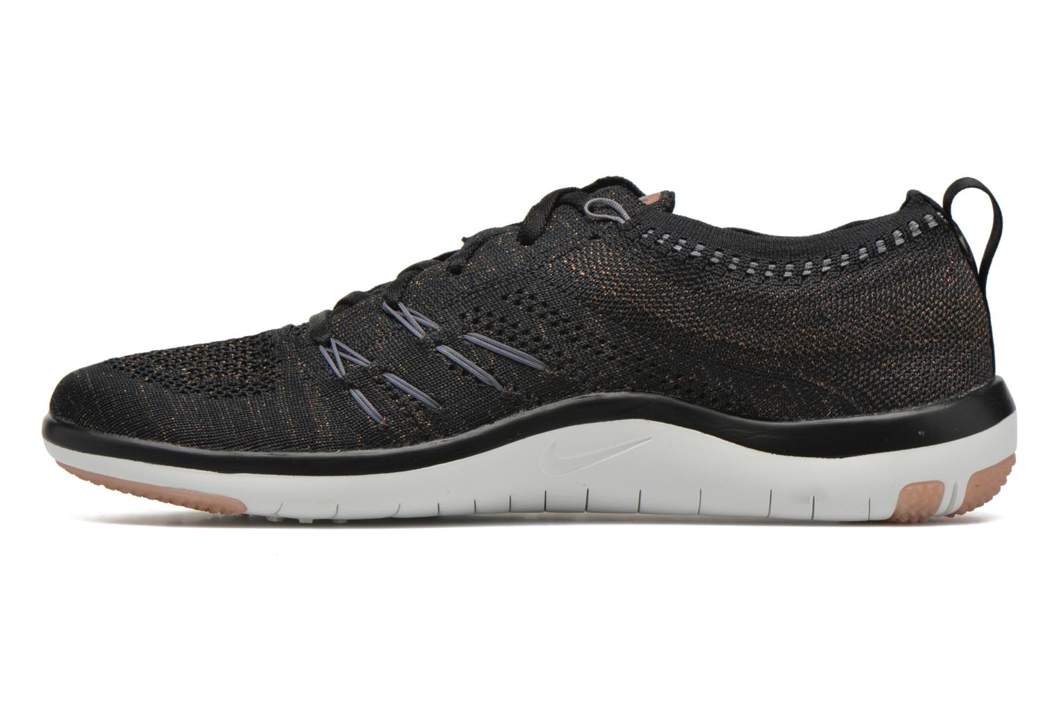 Sport shoes Nike W Nike Free Tr Focus Flyknit Black front view