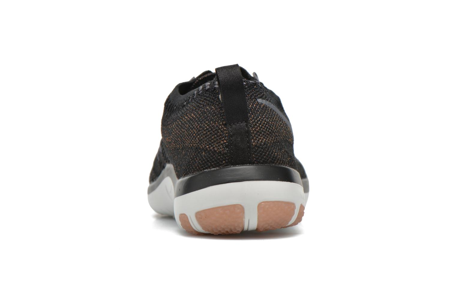 Sport shoes Nike W Nike Free Tr Focus Flyknit Black view from the right