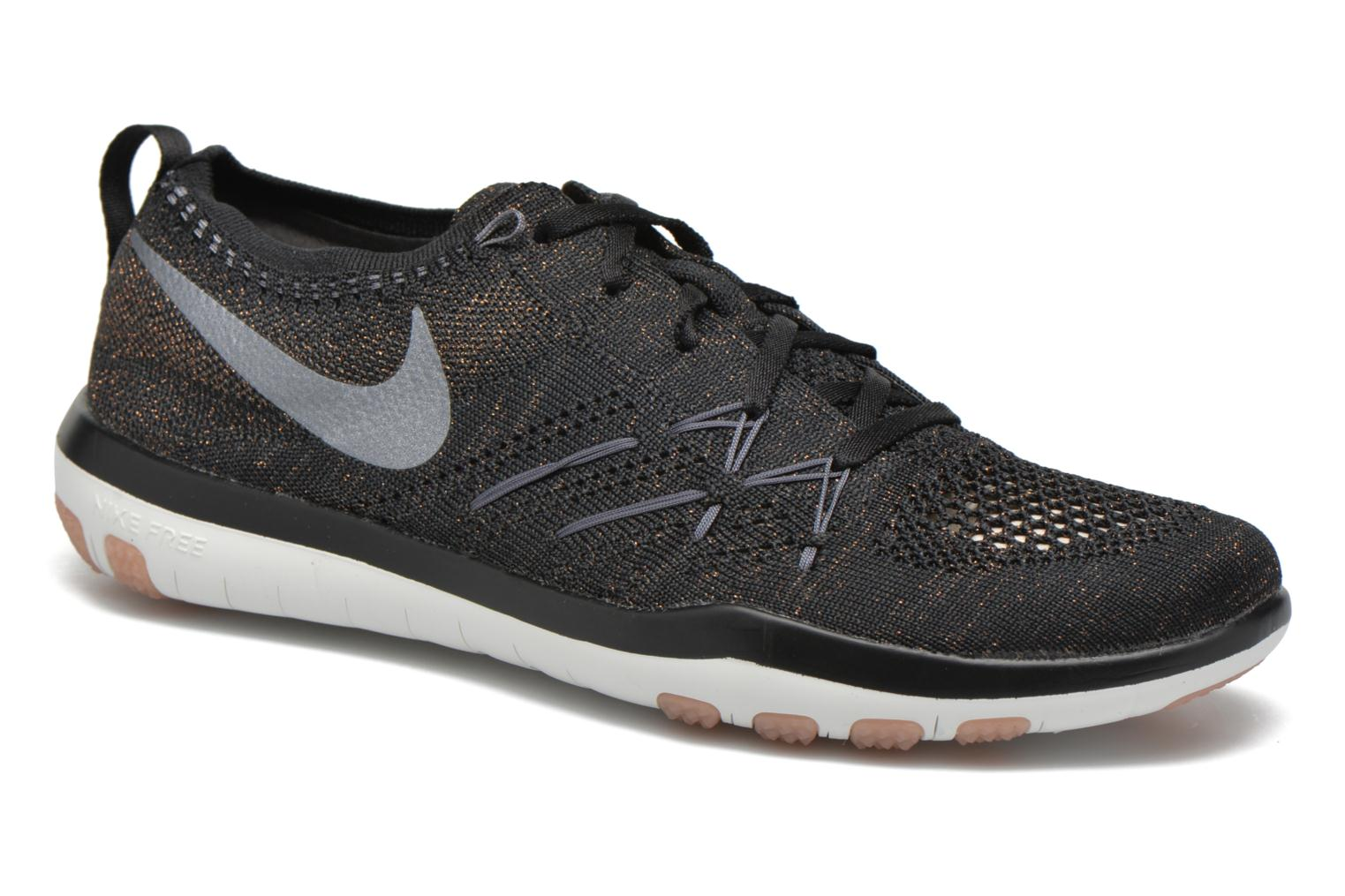 Sport shoes Nike W Nike Free Tr Focus Flyknit Black detailed view/ Pair view