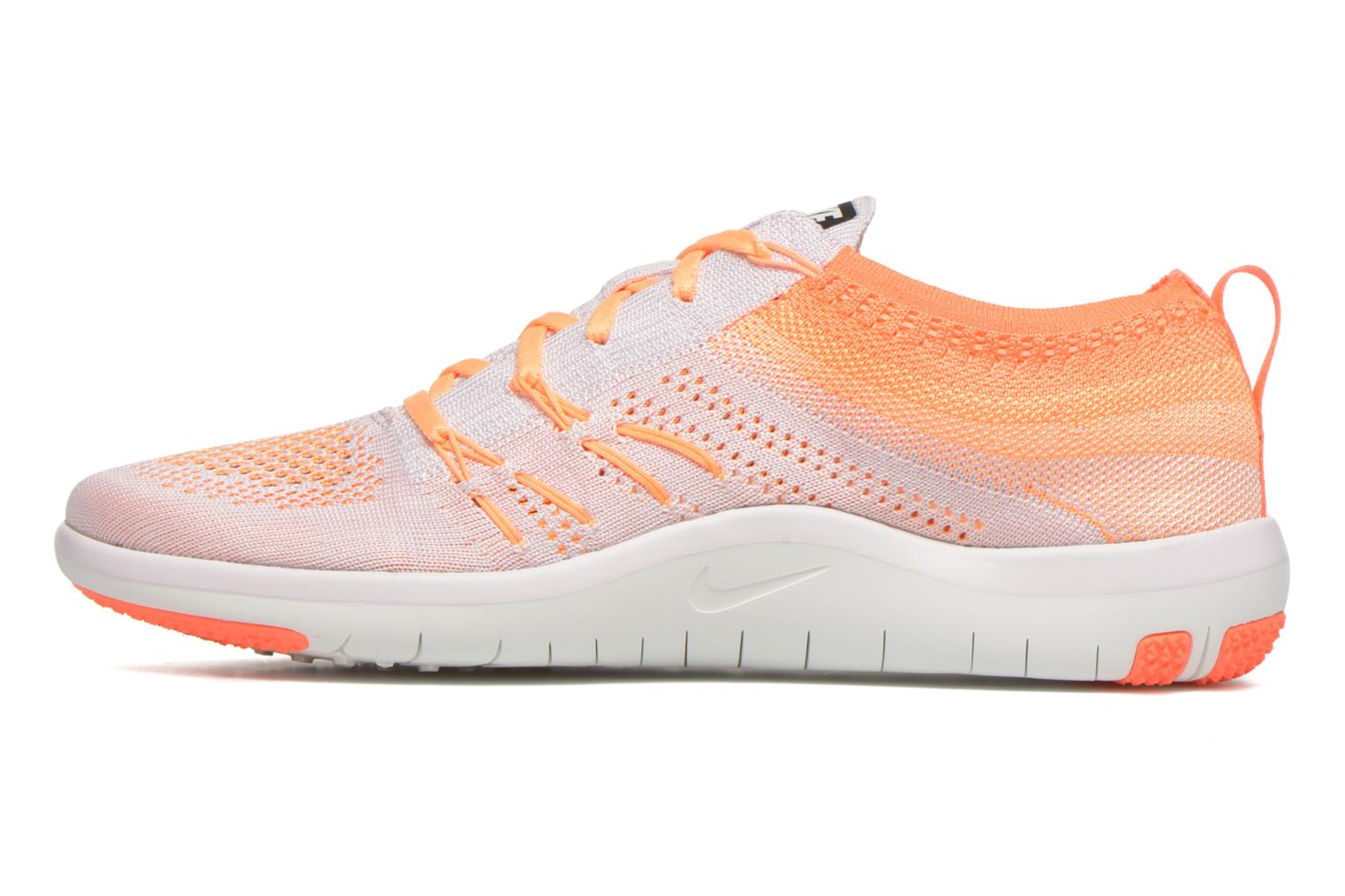 Chaussures de sport Nike W Nike Free Tr Focus Flyknit Rose vue face