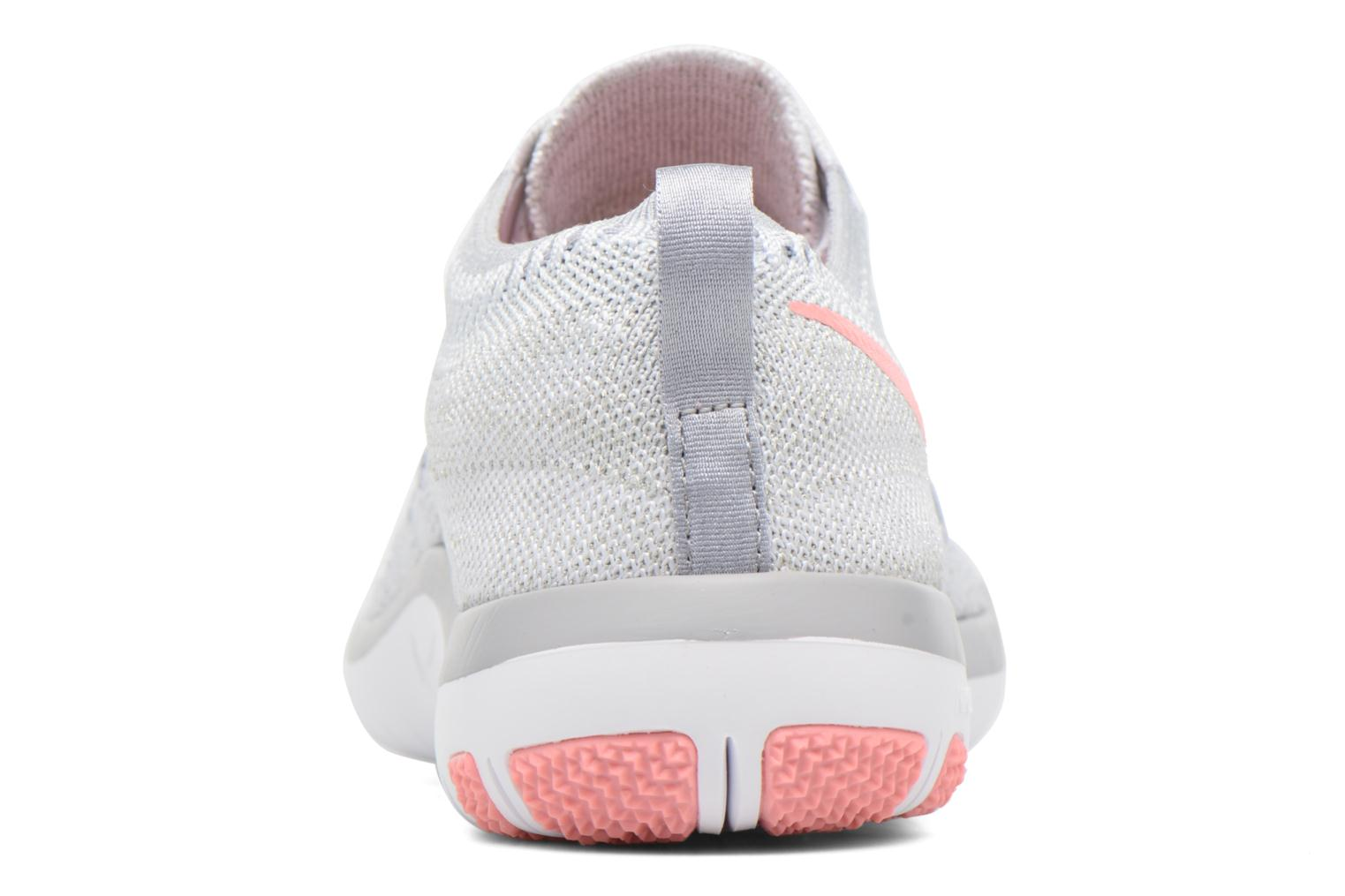 Chaussures de sport Nike W Nike Free Tr Focus Flyknit Blanc vue droite