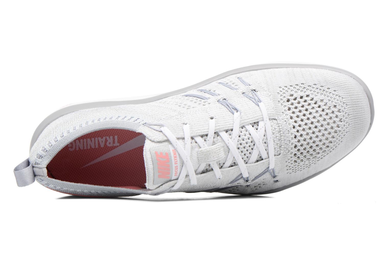 W Nike Free Tr Focus Flyknit White/Bright Melon-Wolf Grey