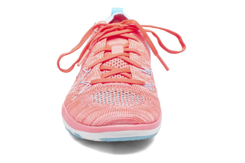 Sportschuhe Nike W Nike Free Tr Focus Flyknit blau schuhe getragen