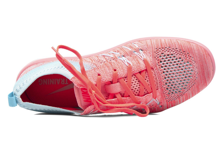 Sportschuhe Nike W Nike Free Tr Focus Flyknit blau ansicht von links