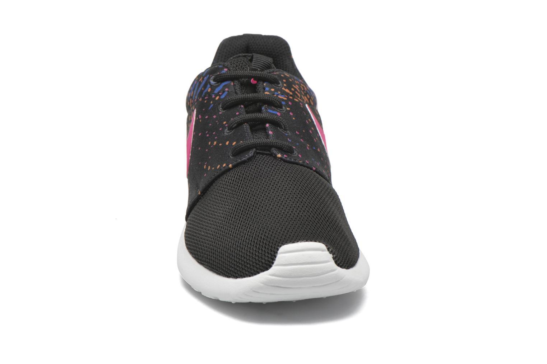 Sneaker Nike W Nike Roshe One Print schwarz schuhe getragen