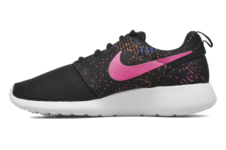 Sneaker Nike W Nike Roshe One Print schwarz ansicht von vorne