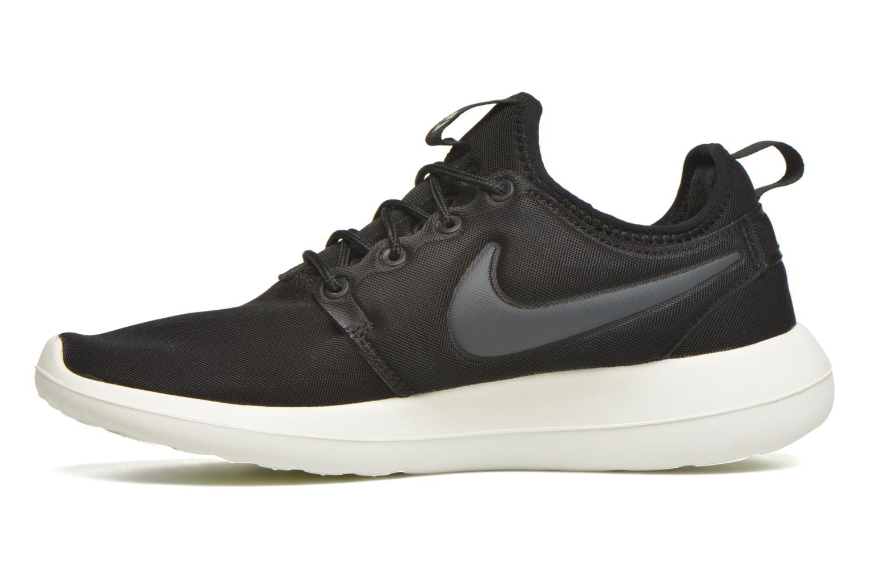 Sneaker Nike W Nike Roshe Two schwarz ansicht von vorne