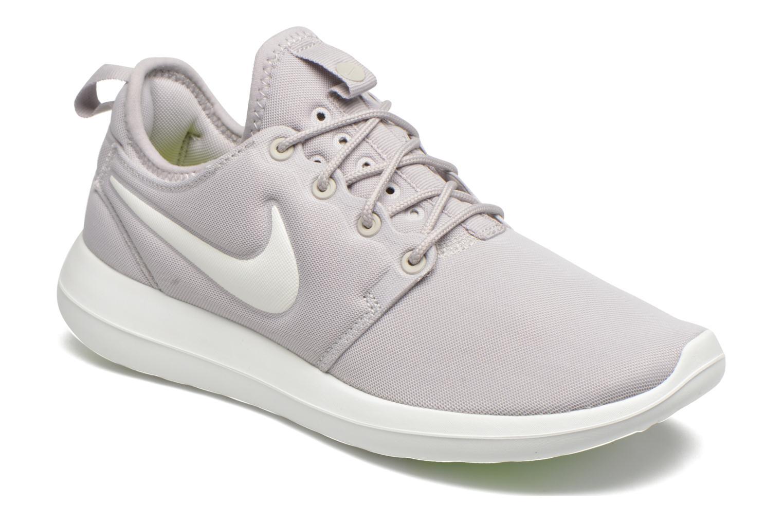 Nike Roshe Two Flyknit 2 Rosherun Grey White Men Running Shoe
