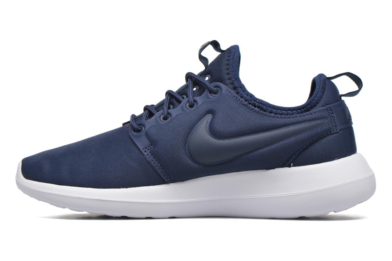 Baskets Nike W Nike Roshe Two Bleu vue face