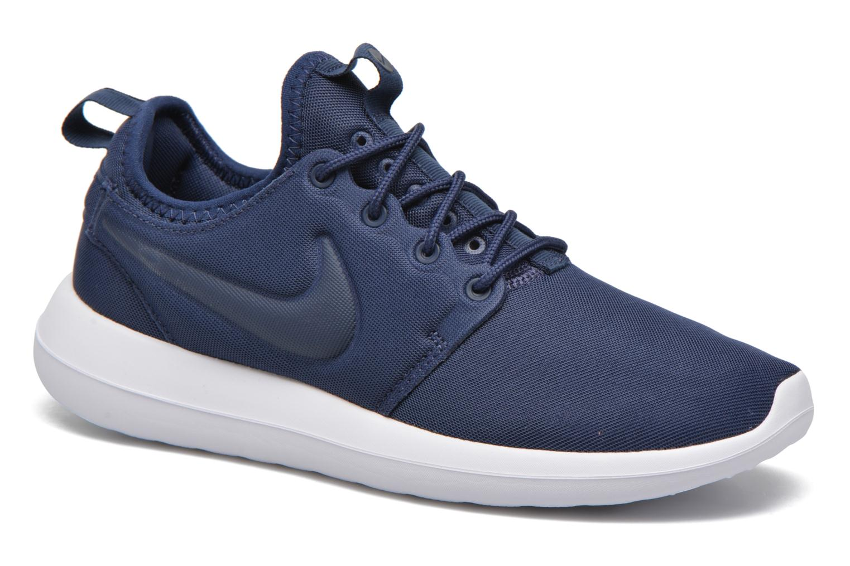 Baskets Nike W Nike Roshe Two Bleu vue détail/paire
