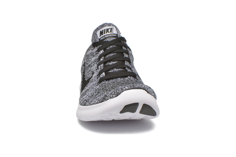 Chaussures de sport Nike Wmns Nike Free Rn Flyknit Noir vue portées chaussures