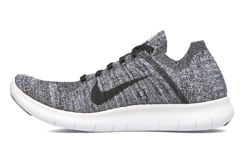 Chaussures de sport Nike Wmns Nike Free Rn Flyknit Noir vue face