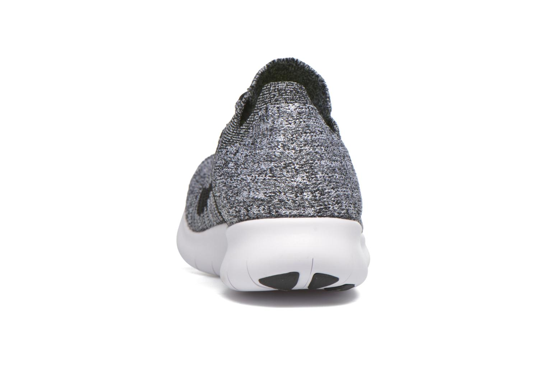 Chaussures de sport Nike Wmns Nike Free Rn Flyknit Noir vue droite